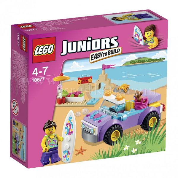 Lego 10677 Juniors - Пътуване до плажа