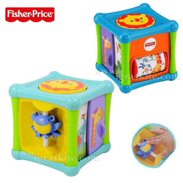 Fisher Price - Забавно кубче за игра BFH80