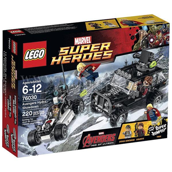 Lego 76030 Super Heroes - Двубой с Хидра