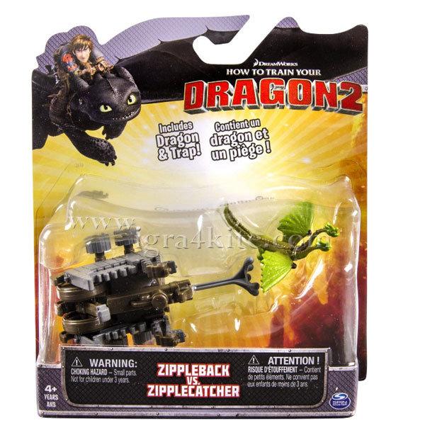 Dragons - Комплект битка Дракони Zippleback vs. Zipplecather