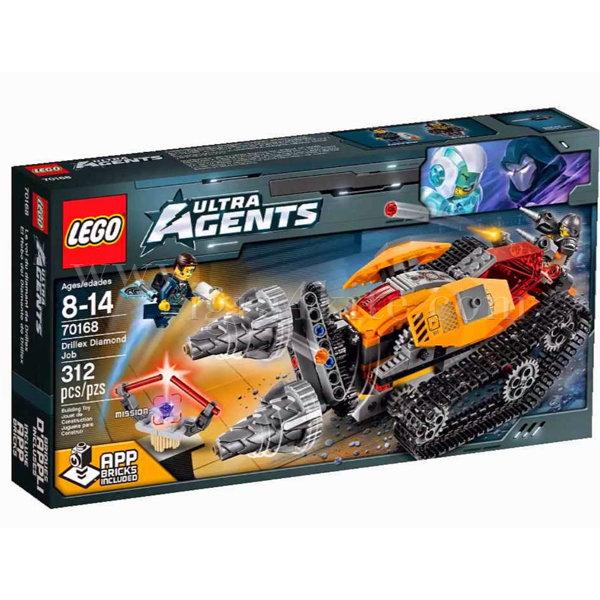 Lego 70168 Ultra Agents - Копач за работата с диаманти