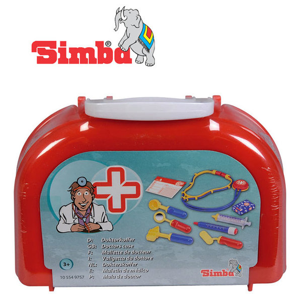 Simba - Лекарски комплект с куфарче 49757