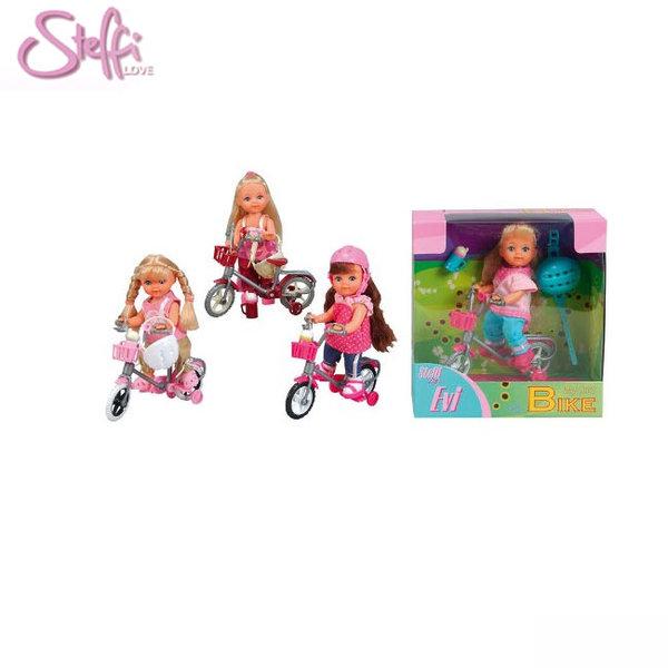 Simba - Кукла Еви с колело 31715