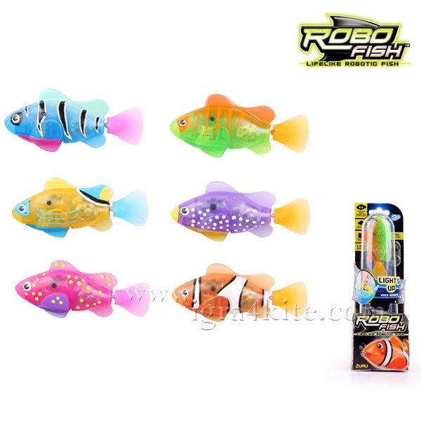 Zuru Robofish - Робофиш Робо риба с LED светлина