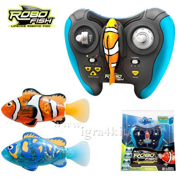 Zuru Robofish - Робофиш Робо риба с дистанционно управление 2572A