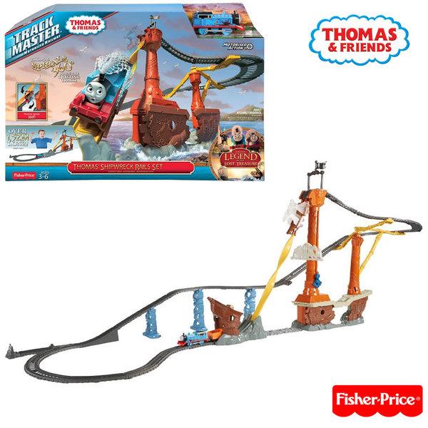 Fisher Price - Влакчето Томас TrackMaster Пътнически кораб cdw87