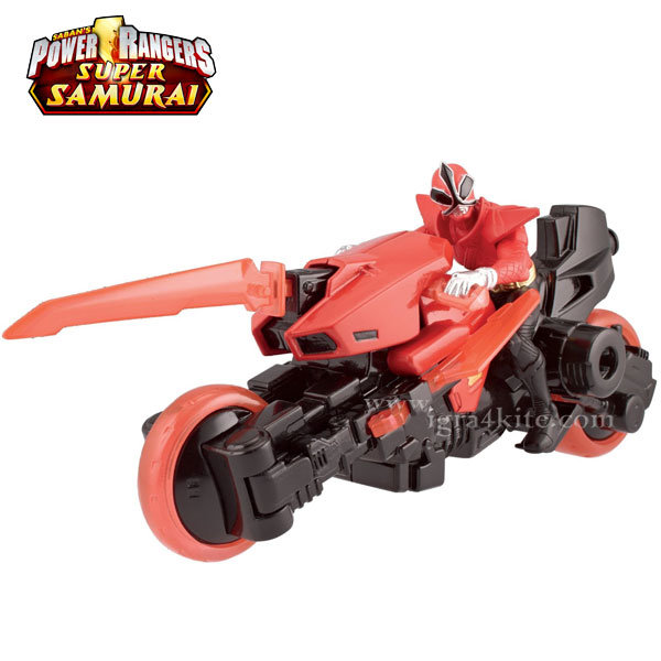 Power Rangers - Пауър рейнджърс Супер Самурай с мотор 31750