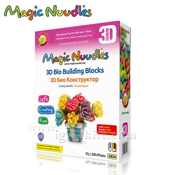 Magic Nuudles Царевични пръчици Ваза с цветя