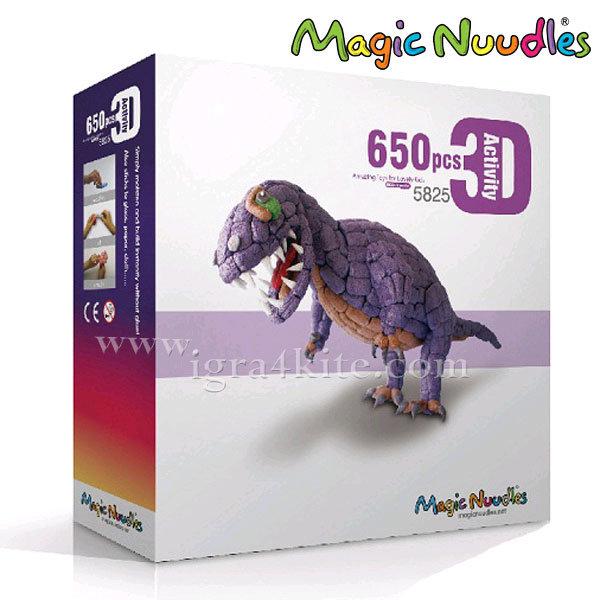 Magic Nuudles Царевични пръчици Направи си Динозавър 5825