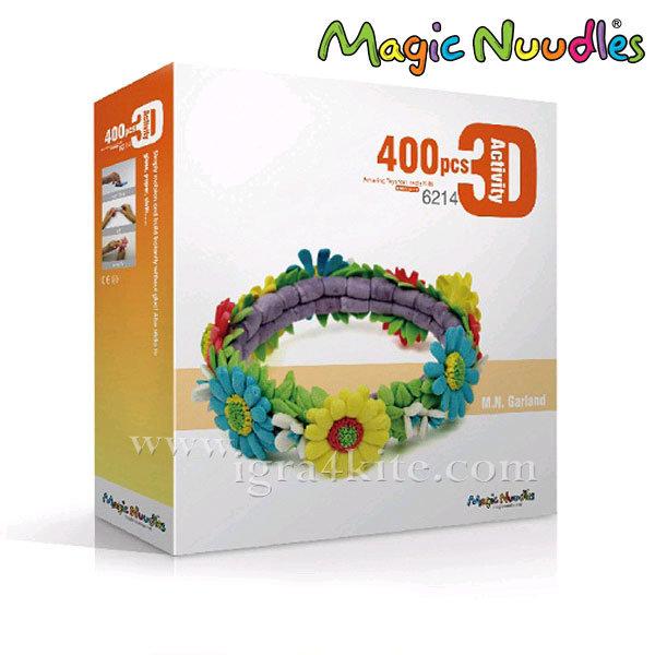 Magic Nuudles Царевични пръчици Направи си Венец от цветя