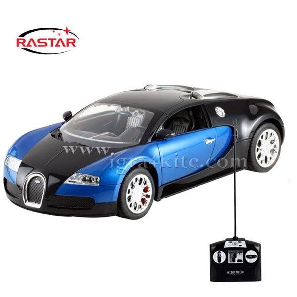Rastar - Кола Bugatti Veyron с дистанционно управление 1:14 x70400