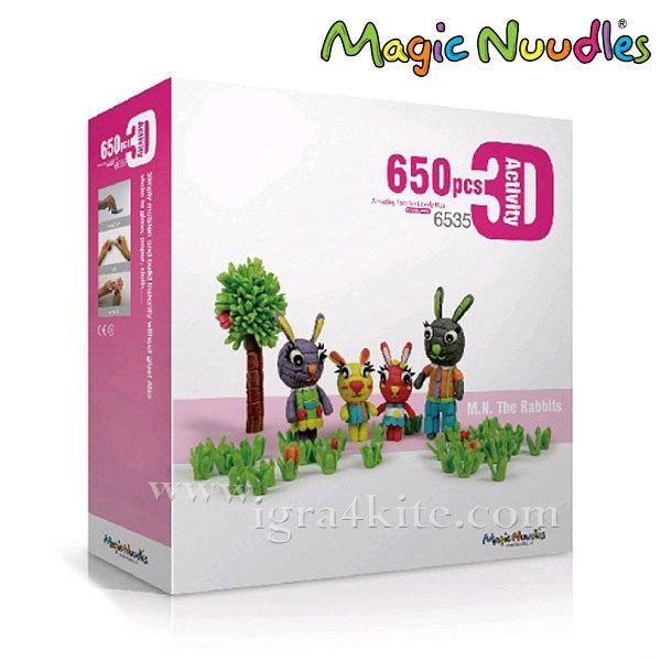 Magic Nuudles Царевични пръчици Семейството на Зайо 6535