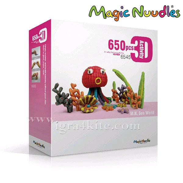 Magic Nuudles Царевични пръчици Морски свят 6545