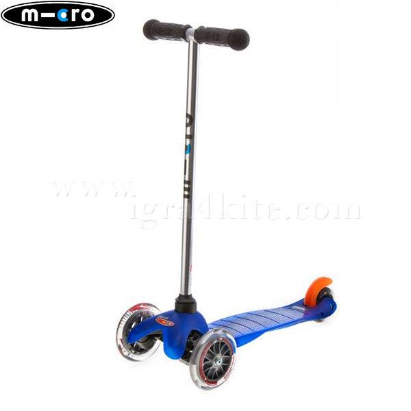 M-Cro - Детска тротинетка с три колела MINI MICRO BLUE MM0001