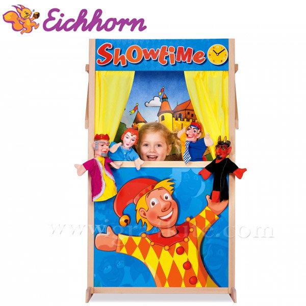 Eichhorn - Детски дървен куклен театър 2586