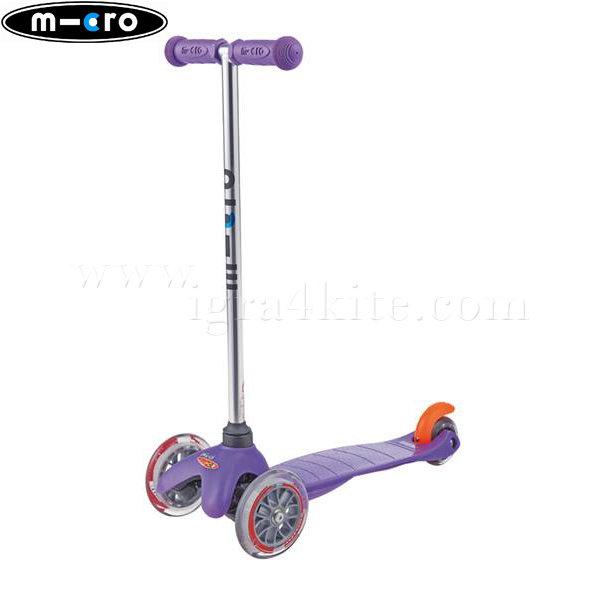 M-Cro - Детска тротинетка с три колела MINI MICRO PURPLE MM0156