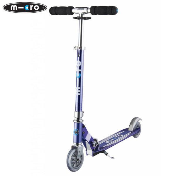 Micro - Сгъваема тротинетка Micro Sprite Blue Stripe Special Edition SA0177