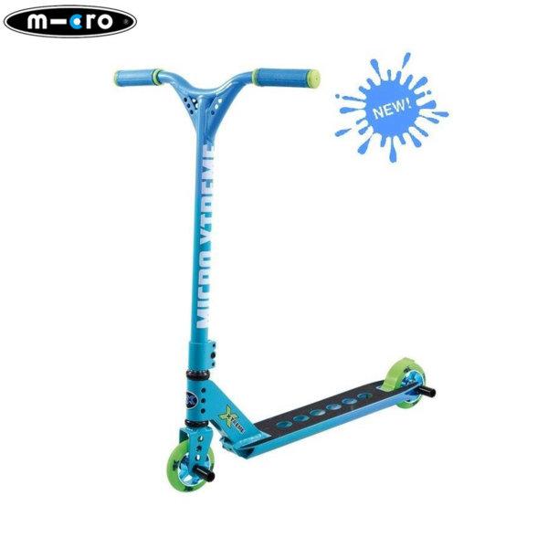 M-Cro Екстремна тротинетка MX TRIXX RANBOW BLUE SA0116