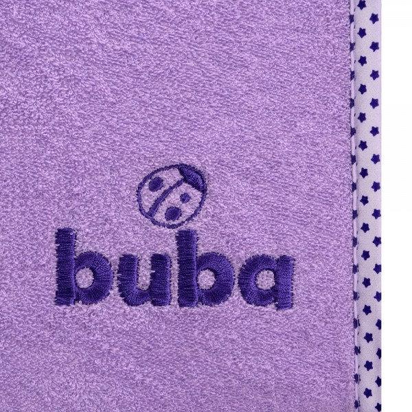 Buba - Хавлиена подложка за повивалник лилава