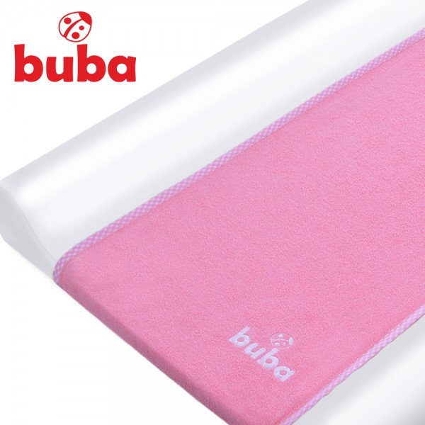 Buba - Хавлиена подложка за повивалник розова