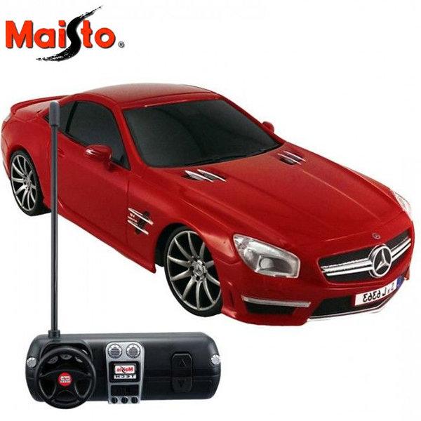 Maistro Tech - Кола с дистанционно Mercedes-Benz SL AMG 63 1:24