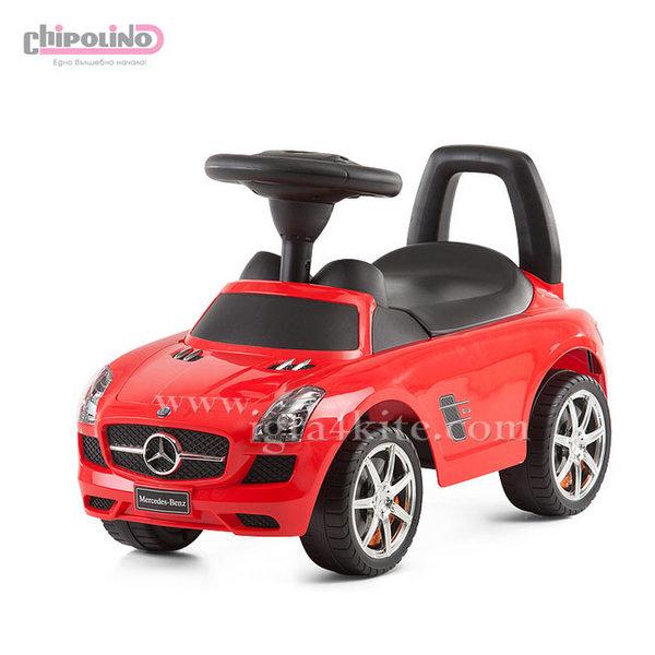 Chipolino - Кола за яздене Mercedes Benz SLS AMG червена