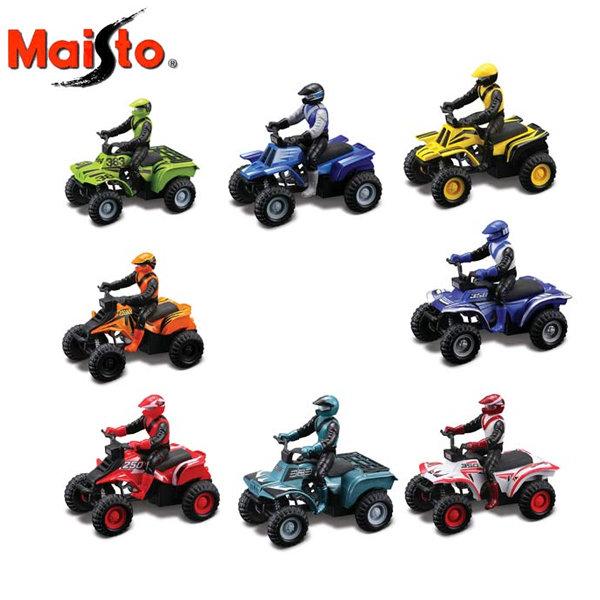 Maisto Tech -  ATV с моторист Асортимент