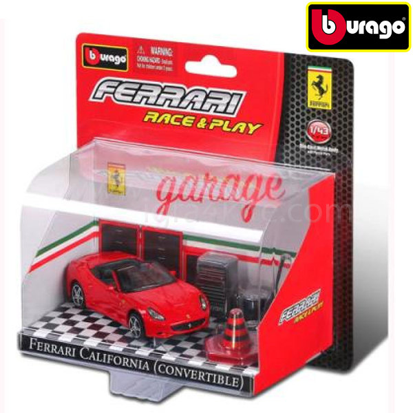 Bburago - Ferarri игрален комплект количка 1 бр.