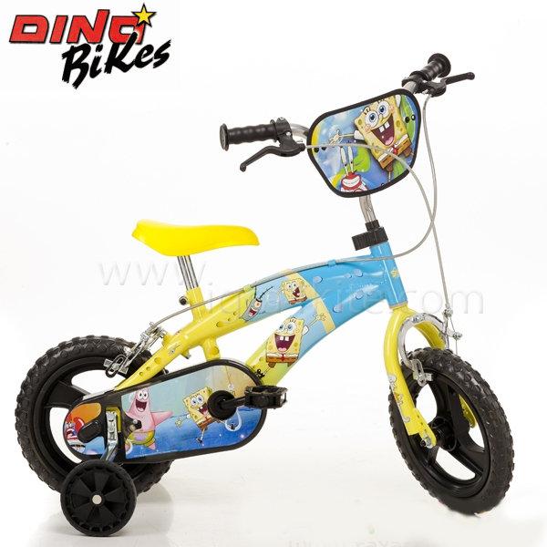 "Dino Bikes Sponge Bob - Детско колело Спондж Боб 12"" 115642"