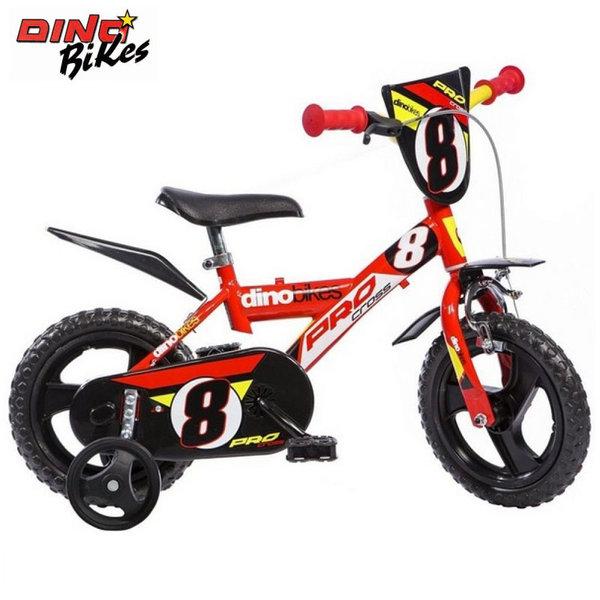 """Dino Bikes - Детско колело 12"""" червено 120115627"""