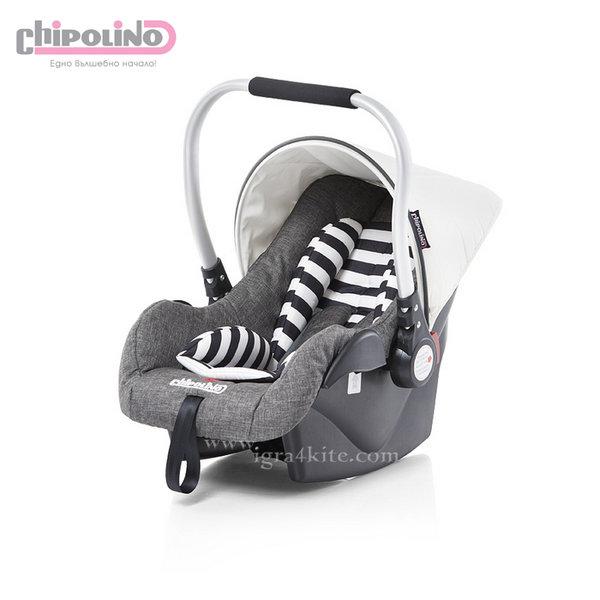 Chipolino - Столче за кола Етро (0-13кг.) сиво