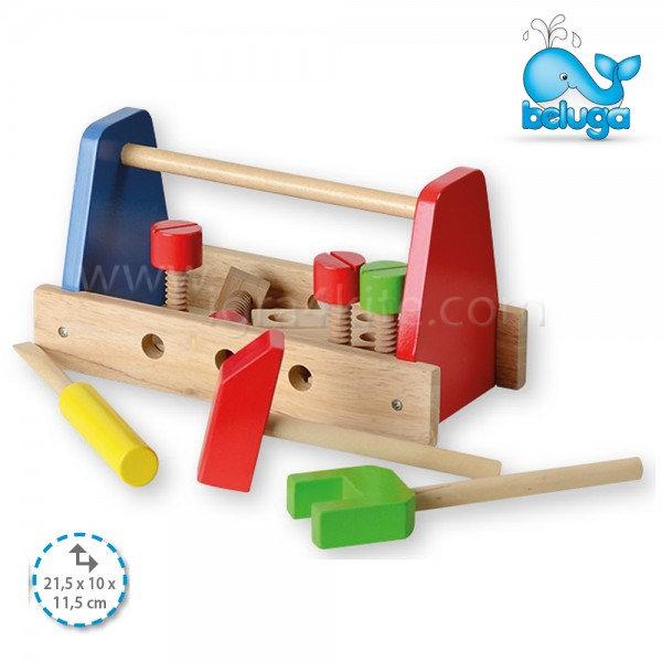 Beluga - Дървени инструменти с кутия 50100