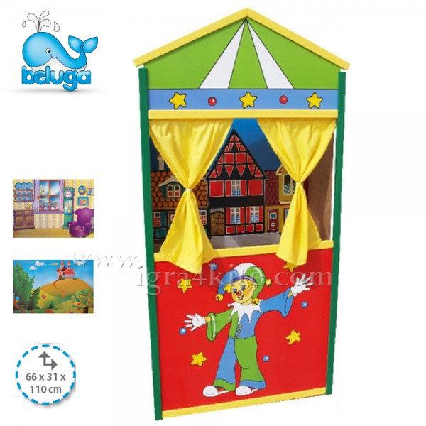 Beluga - Дървен куклен театър 50128