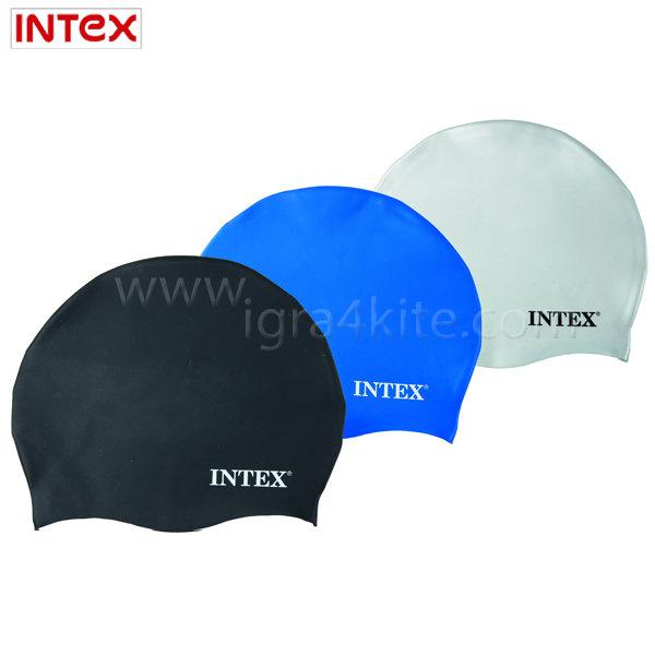 Intex - Шапка за плуване силиконова 55991