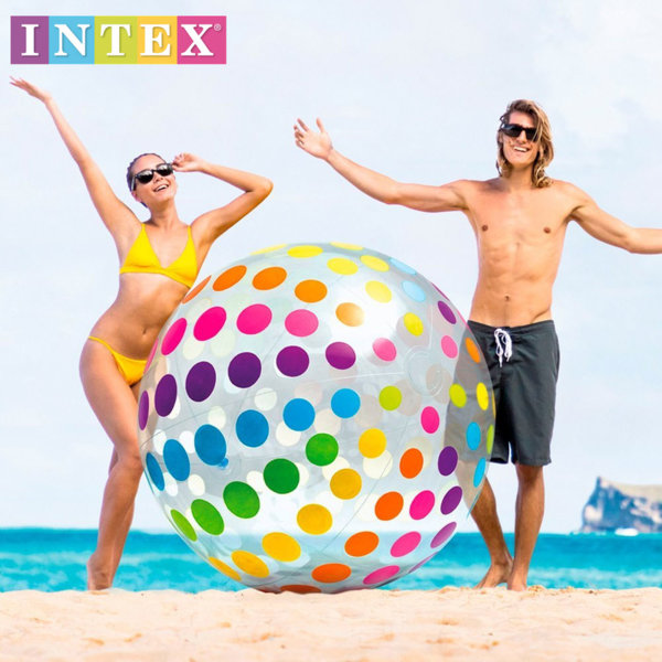 Intex - Надуваема гигантска топка 183см 58097