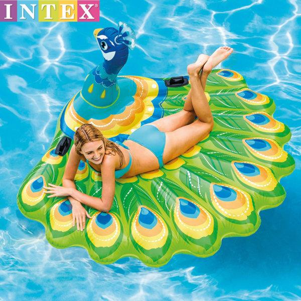 Intex - Надуваем остров Паун 57250