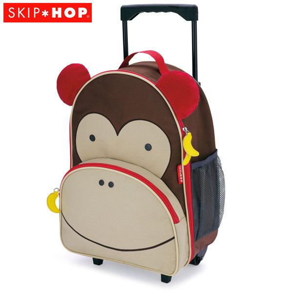 Skip Hop - Детска чанта на колела Zoo Luggage Маймунка 212303