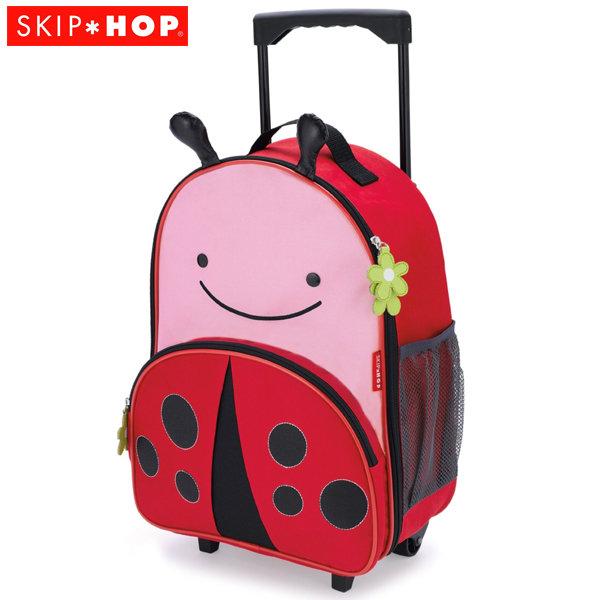 Skip Hop - Детска чанта на колела Zoo Luggage Калинка 212310