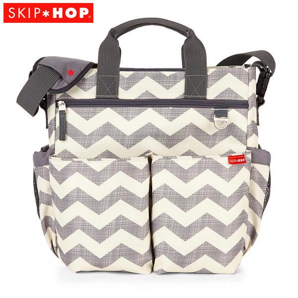 Skip Hop - Чанта за разходка с подложка за повиване Duo spec Edition Шеврон 200306