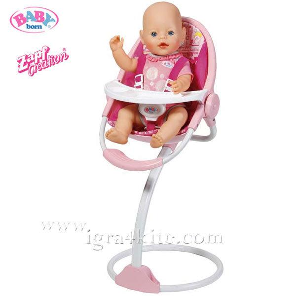Zapf Creation - Baby Born Столче за хранене за кукла 819555