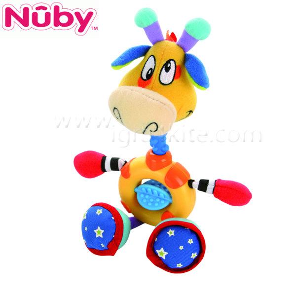Nuby - Плюшена дъвкалка жираф