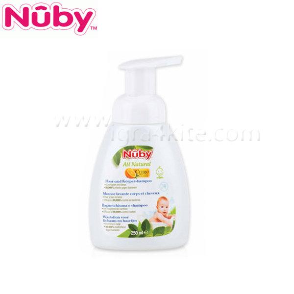 Nuby - Шампоан за тяло и коса 250 мл.