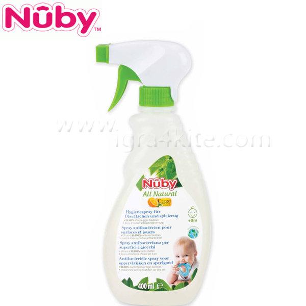Nuby - Антибактериален спрей за повърхности и играчки 400мл.