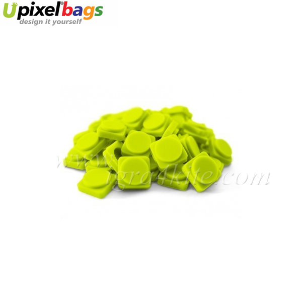 Upixel - Големи пиксел чипове - ментово зелено