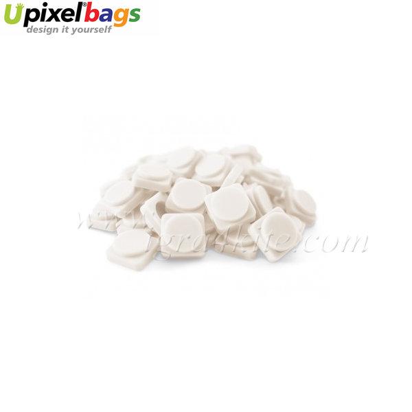 Upixel - Големи пиксел чипове - млечно бяло
