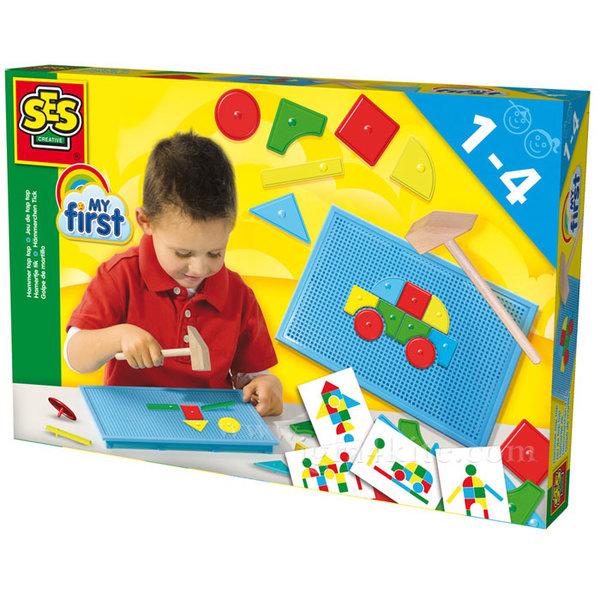 SES Creative - Детска мозайка с чукче 14424