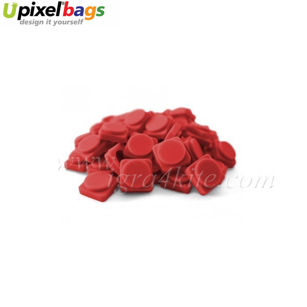 Upixel - Малки пиксел чипове - червено