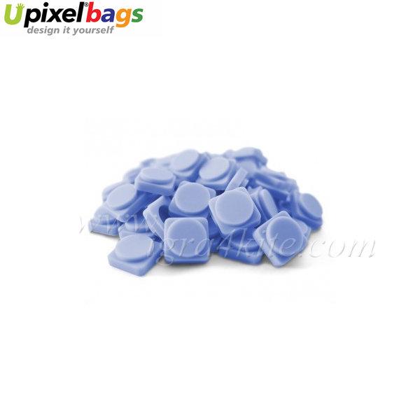 Upixel - Малки пиксел чипове - облачно синьо