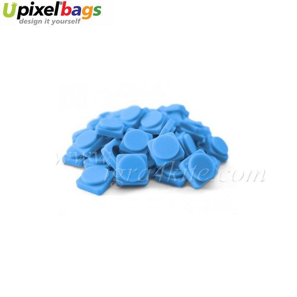 Upixel - Големи пиксел чипове - небесно синьо