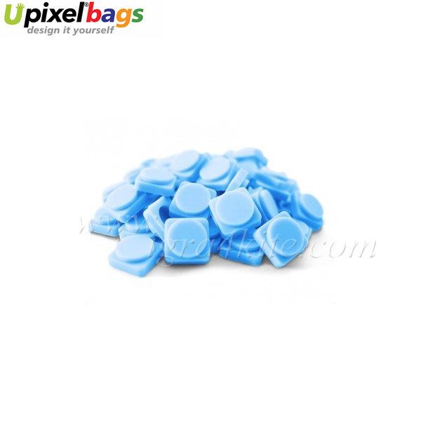 Upixel - Големи пиксел чипове -  светло синьо